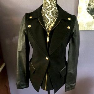 Sam Edelman Wool & Leather Jacket